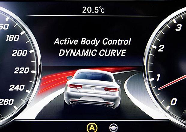 Mercedes-Benz: Jak funguje systém naklánění auta v zatáčkách?