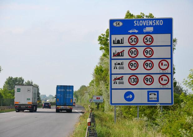 Slovenská vláda navrhla zvýšení pokut pro silniční piráty