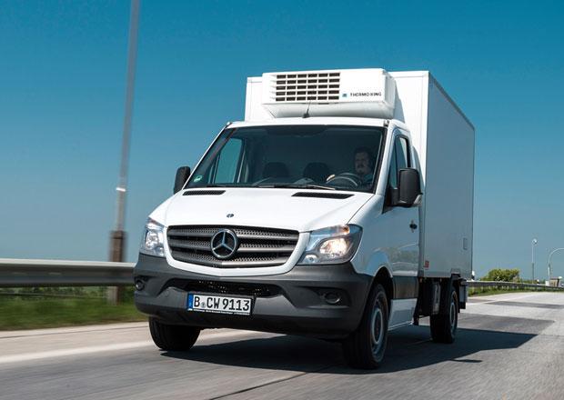 Mercedes-Benz Sprinter: Crosswind Assist proti bočnímu větru (+video)