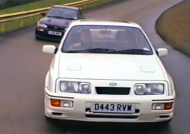 Ford RS Cosworth: Sierra a Escort ve snímku od XCar