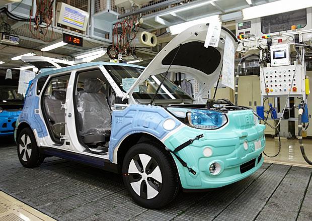 Kia zah�jila v�robu elektromobilu Soul  EV, bude i v �esku