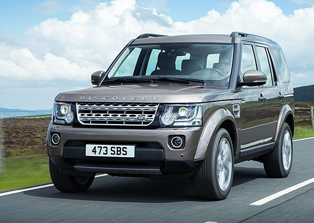 Land Rover p�edstavil Discovery modelov�ho roku 2015 (+video)
