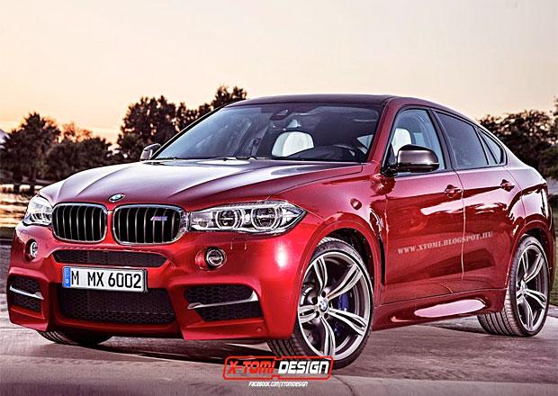BMW X6 M 2015: Jak by mohlo vypadat?