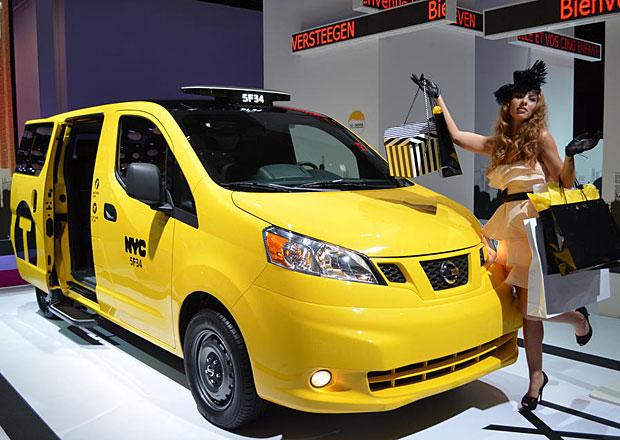 Nissan se nakonec opravdu stal jediným poskytovatelem taxi v New Yorku