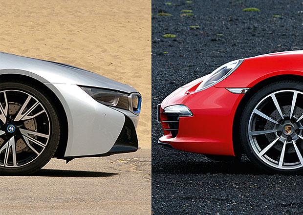Designový duel: BMW i8 vs. Porsche 911