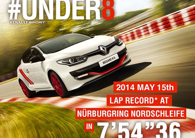 Renault Mégane RS je nejrychlejším hothatchem na Nürburgringu (+video)