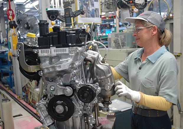 Toyota začala v Polsku vyrábět nový tříválec pro Aygo a Yaris