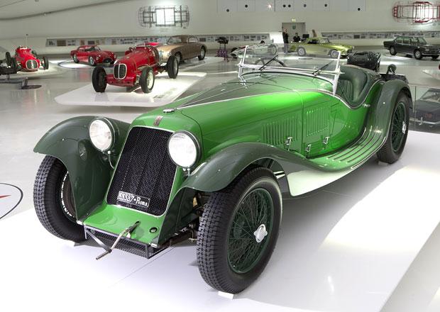 Maserati otevřelo v Modeně výstavu ke 100 letům značky