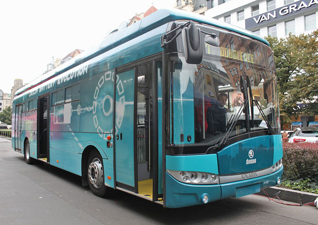 Český elektrobus jezdí v zahraničí