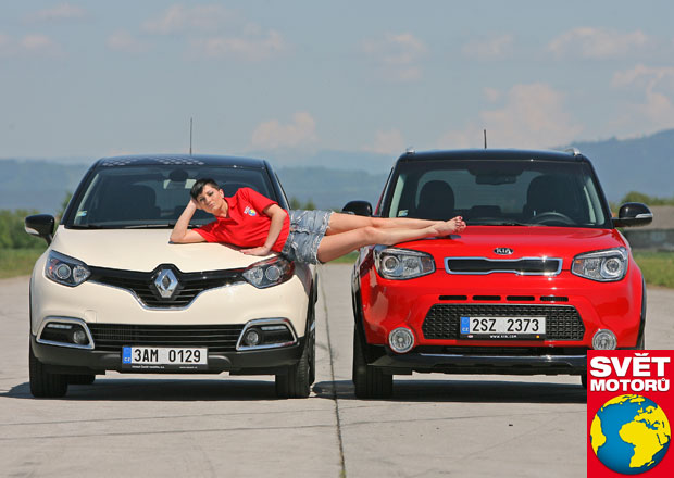 Kia Soul 1.6 CRDi vs. Renault Captur 1.5 dCi