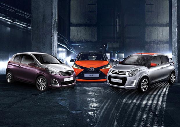 Známe ceny všech kolínských trojčat, nejlevnější je Toyota Aygo