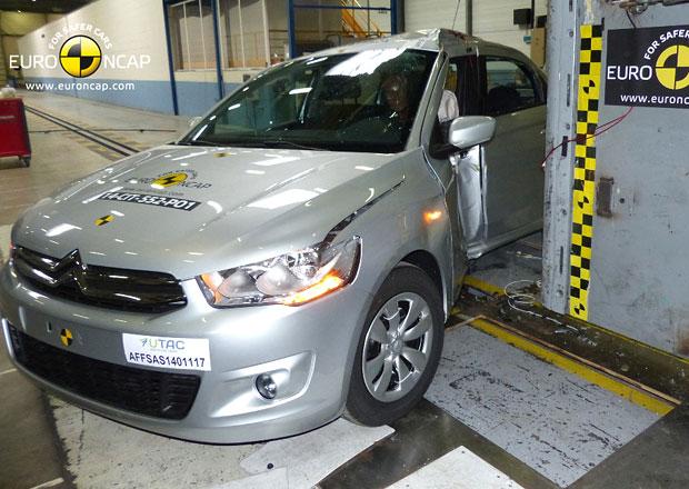 Euro NCAP 2014: Citro�n C-Elys�e a Peugeot 301 � Jen 3 hv�zdy pro levn� duo