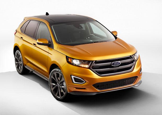 Ford Edge: V Evropě se dvěma turbodiesely