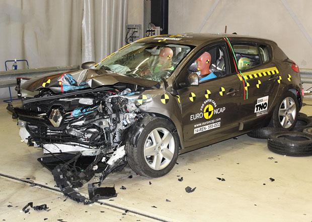 Euro NCAP 2014: Renault M�gane dostal jenom t�i hv�zdy