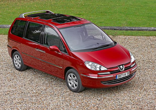 Peugeot ukončí prodej 807 a 207+, konec čeká i další modely