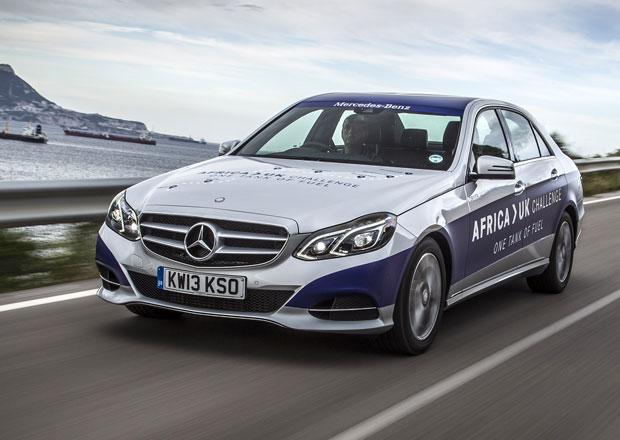 Hybridní Mercedes-Benz E ujel na jednu nádrž 1.968 km