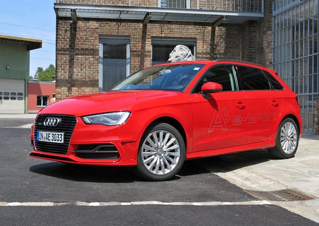 Audi A3 Sportback e-tron: První jízdní dojmy