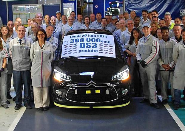 Citroën ve Francii vyrobil již 300.000 vozů DS3