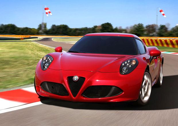 Sportovn� kup� Alfa Romeo 4C pravd�podobn� dostane i v�konn�j�� variantu