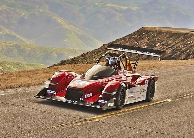 Mitsubishi i-MiEV Evolution III pokořilo Pikes Peak