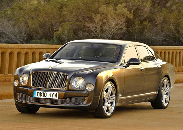 Bentley Mulsanne dostane výkonnější verzi