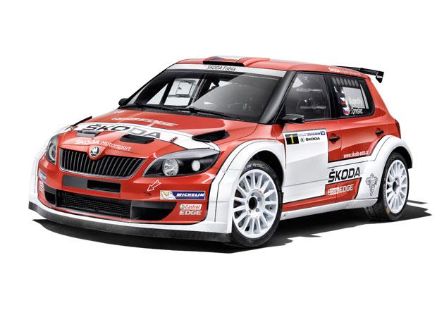 �koda Fabia S2000: Retro zbarven� pro Rallye Bohemia