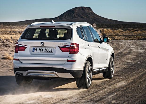 BMW X3: Příští generace dostane dvě sportovní verze
