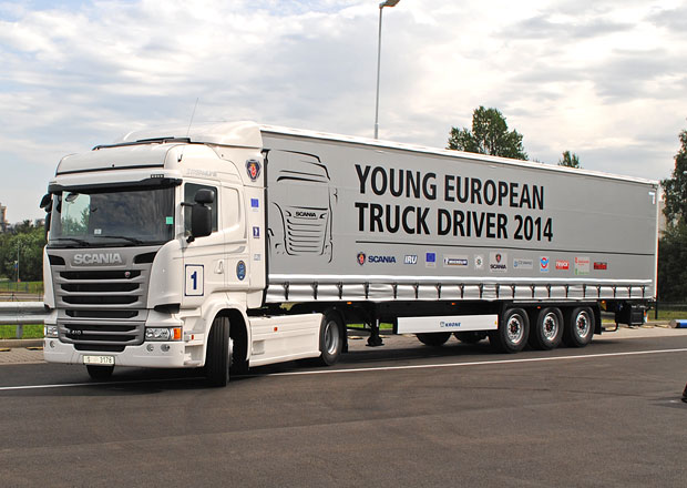 Scania: Českým vítězem YETD 2014 je Michal Kyral