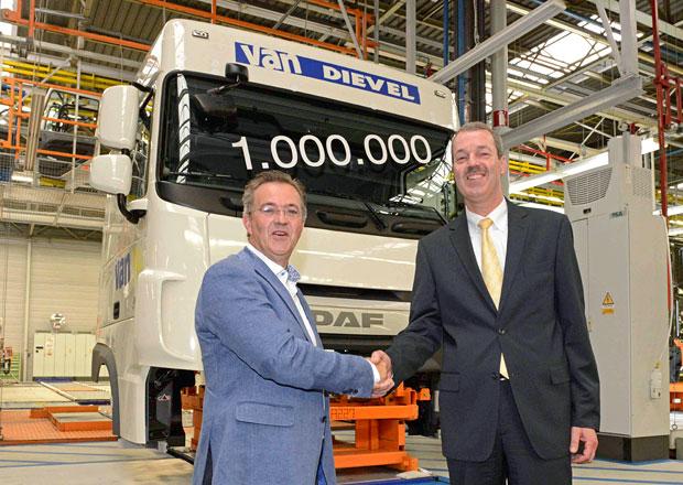 DAF vyrobil miliontou kabinu