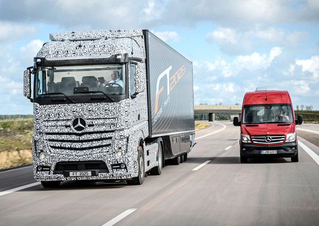 Mercedes-Benz Future Truck 2025: Další krok k autonomní dopravě (+video)