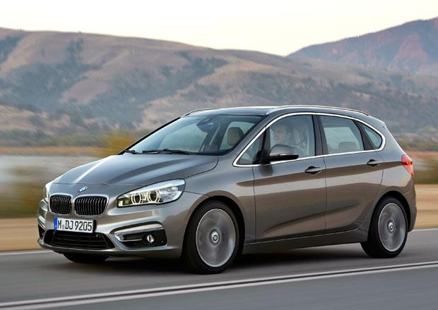 BMW 2 Active Tourer: Tříválcový základ 1,5 l se 100 kW stojí 631.800 Kč