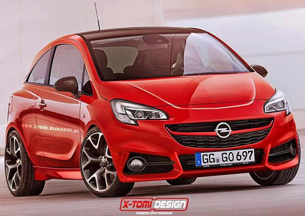 Mo�n� vzhled Opelu Corsa OPC podle X-Tomi