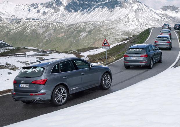 Audi vyrobilo šest milionů vozů s pohonem quattro, jubilantem je SQ5 TDI