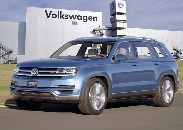 Volkswagen CrossBlue: Velk� SUV se za�ne vyr�b�t v roce 2016 v USA
