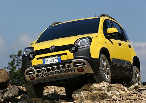 Fiat Panda Cross: Baby off-road
