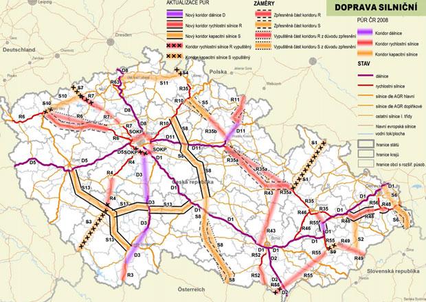 Česká silniční budoucnost? Třeba jižní alternativa k D1