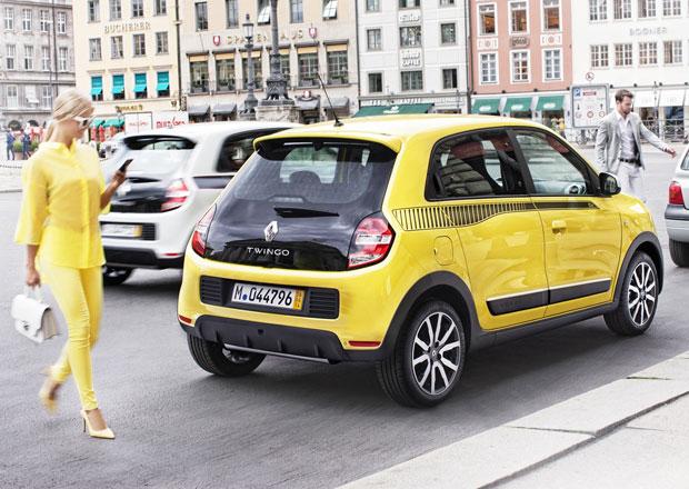 Renault Twingo a modelky v evropských městech: Fotogalerie