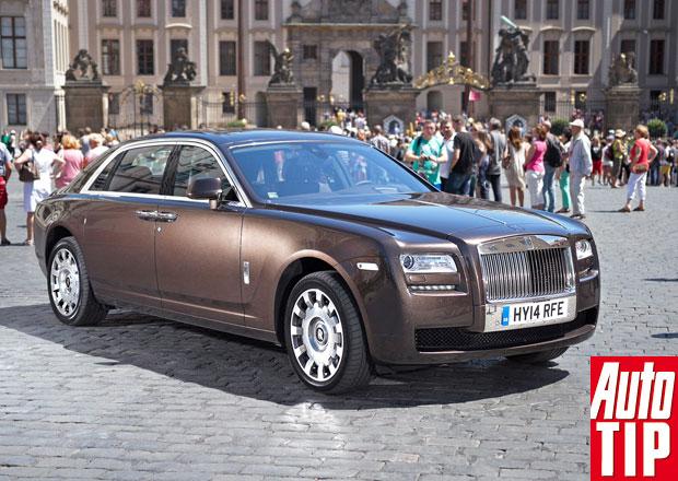 Rolls-Royce Ghost EWB: Jízdní dojmy