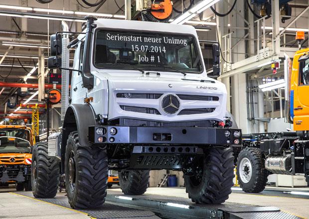 Mercedes-Benz zahájil výrobu nového Unimogu