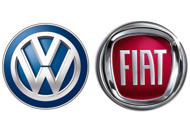 Volkswagen prý pokukuje po Fiatu, ten to ale popřel