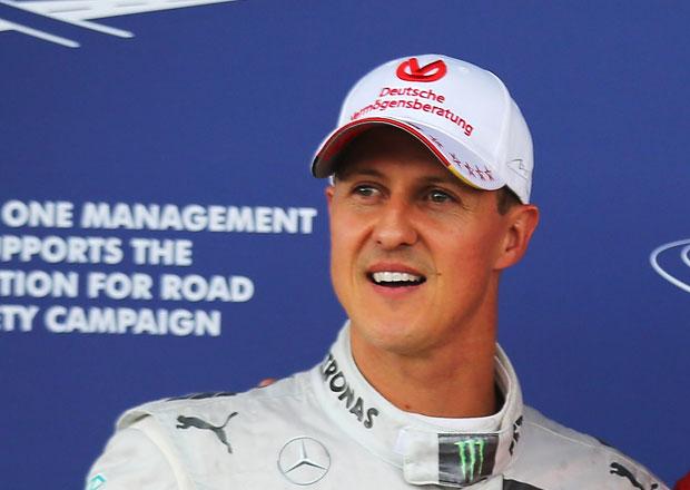Schumacher by se již brzy mohl vrátit domů