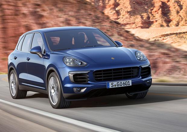 Porsche Cayenne 2015: Agresivnější vzhled a nová technika pro výkonné SUV