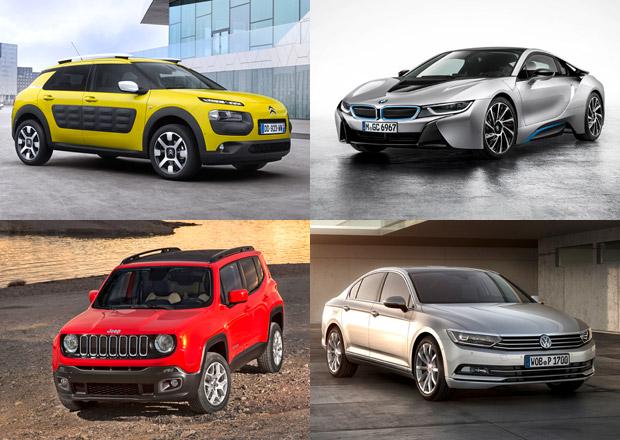 Známe kandidáty na Auto roku 2015, nechybějí Fabia a kolínská trojčata