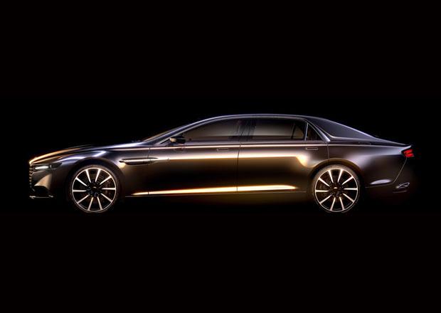 Aston Martin Lagonda: První snímky luxusního supersedanu