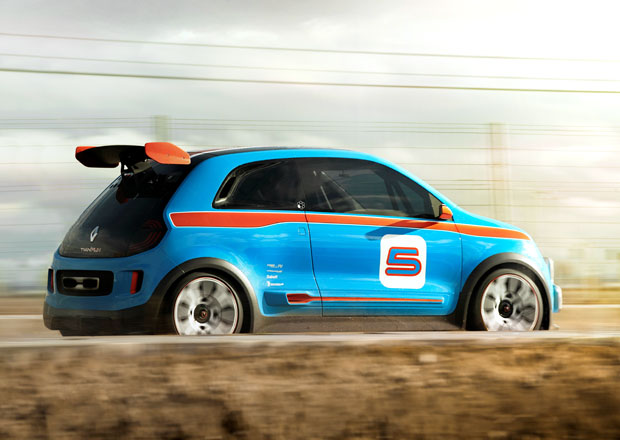 Renault už testuje nové Twingo RS