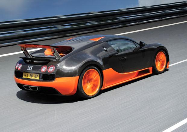 Nástupce Bugatti Veyron dorazí za necelé dva roky