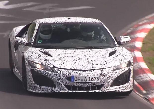 Honda NSX: Testy na Nürburgringu zmařil požár