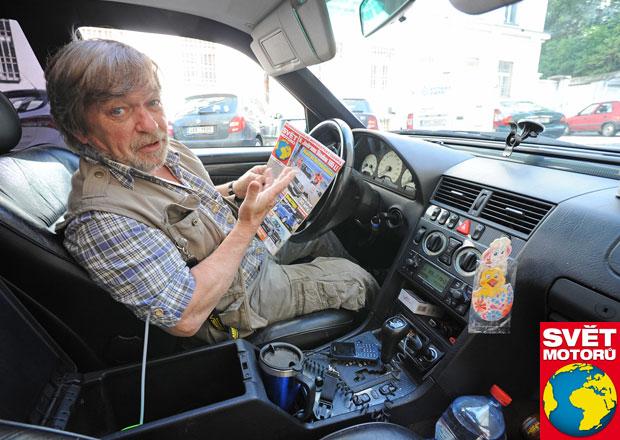 Rozhovor s Romanem Skamene: Auto beru jako cigáro