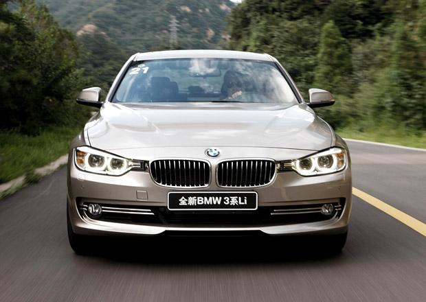 Čínským úřadům se nelíbí vysoké ceny zahraničních výrobců luxusních aut