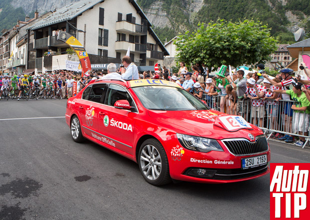 Škoda Auto na Tour de France: Lídr pelotonu